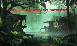 The Setting's Effect on Characters