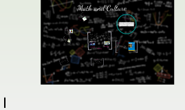 Math and Culture