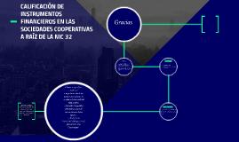 CALIFICACIÓN DE INSTRUMENTOS FINANCIEROS EN LAS SOCIEDADES C