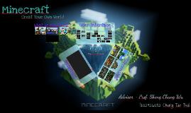 Create Your Own World - Minecraft