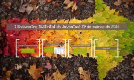 I Encuentro Distrital de Juventud. 29 de marzo de 2014