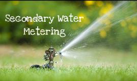 Secondary Metering