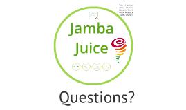 Jamba Juice Strategic Management Plan