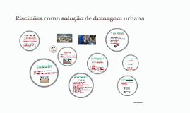 Piscinões como solução de drenagem urbana