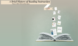 The History of Reading Instruction