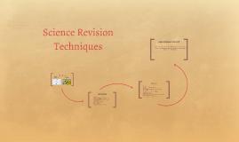 Science Revision Techniques