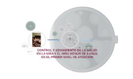 Copy of CONTROL Y SEGUIMIENTO DE LA SALUD EN LA NIÑA Y EL NIÑO MENOR