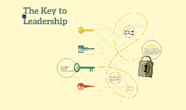 The Key to Leadership