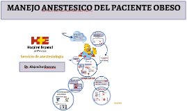 Manejo anestésico