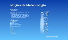 Noções de Meteorologia