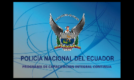 PROGRAMA DE CAPACITACION INTEGRAL CONTINUA