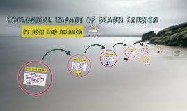 Ecological Impact of Beach Erosion