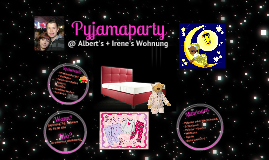 Pyjamaparty Einladung