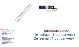 Open Dag Comenius INF