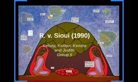 R. v. Sioui (1990)