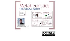 Copy of Metaheuristics and metaphors