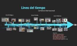 Copy of Historia de comercio internacional  Linea del tiempo