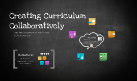 Creating Curriculum Collaboratively