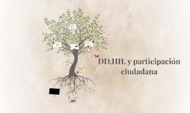 DD.HH. y participación ciudadana