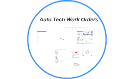 Copy of Auto Tech Work Orders