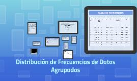 Copy of Distribución de frecuencias de datos agrupados