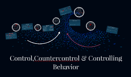 Control,Countercontrol & Controlling Behavior
