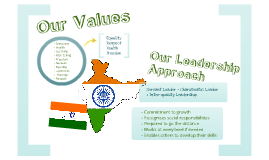 Our Values, Leadership Approach