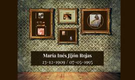 María Inés Jijón Rojas