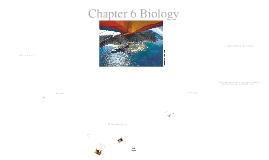 Biology Chapter 6-1: A Changing Landscape