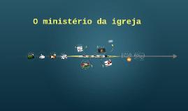 O ministério da igreja