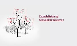 Enhedslisten og Socialdemokraterne