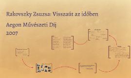 Rakovszky Zsuzsa: Visszaút az időbe