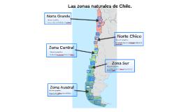 Las zonas naturales de Chile. 5to