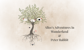 Alice's Adventures in Wonderland & Peter Rabbit