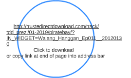 Walang Hanggan Ep011 - 20120130 Download free torrent
