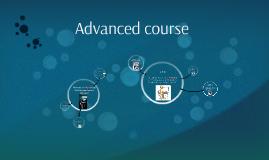 Advanced course