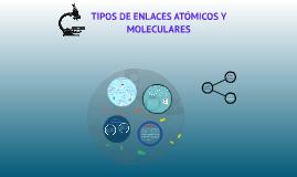 Tipos de Enlaces Atómicos y Moleculares