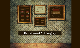 Copy of Detection of Art Forgery