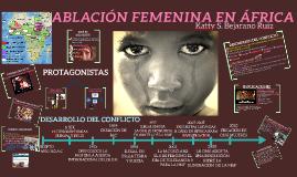 ABLACIÓN FEMENINA EN ÁFRICA