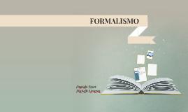 Segùn la RAE Formalismo es una tendencia a concebir las cosa