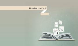 Fashion 2016.11.8