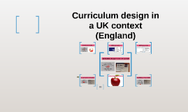 Curriculum design in a UK context (England)