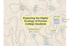 Exploring the Digital Ecology of Korean College Students