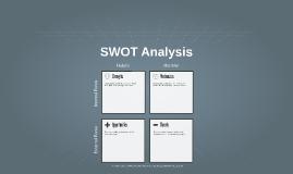 Copy of SWOT Analysis