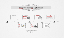Krig i Vietnam og Afghanistan