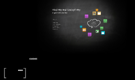 Mind Map and Concept Map