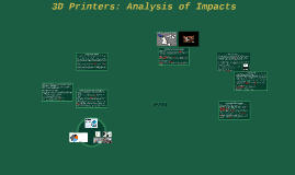 3D Printers (PM 4: Impact)