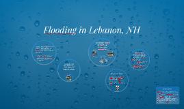 Flooding in Lebanon, NH