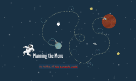 Planning the Menu