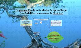 La planeación de actividades de aprendizaje